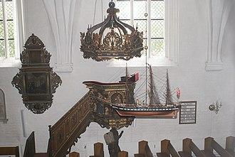 Abbey Church, Nykøbing Falster - Image: Nykoebing 00032