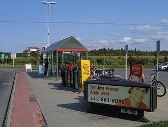 Eagleson station - Image: OC Transpo Eagleson