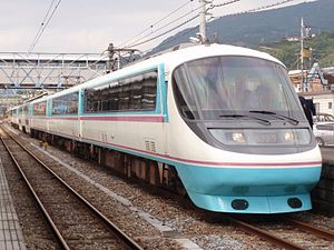 Asagiri (train) - Image: OER RSE20000 Asagiri Matsuda