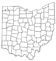 Location of Bryan, Ohio