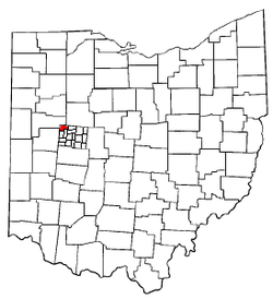 Location of Stokes Township in Ohio