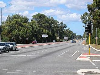 Mandurah Road - Mandurah Road in Mandurah