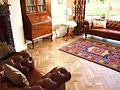 Oak herringbone wood floor with two stripe wenge border.jpg