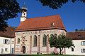 Obermenzing - Schloss Blutenburg - Kapelle - Außenansicht 002.jpg