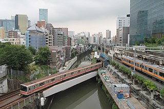 Ochanomizu Station Railway and metro station in Tokyo, Japan