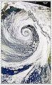 October 2000 winter storm at peak intensity, on October 27, 2000.jpg