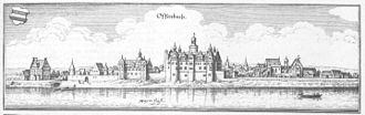 Offenbach am Main - Offenbach in 1655