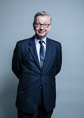 Secretary of State for Environment, Food and Rural Affairs - Image: Official portrait of Michael Gove