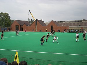 Michigan Wolverines field hockey - The 2012 Michigan field hockey team in action against Ohio State