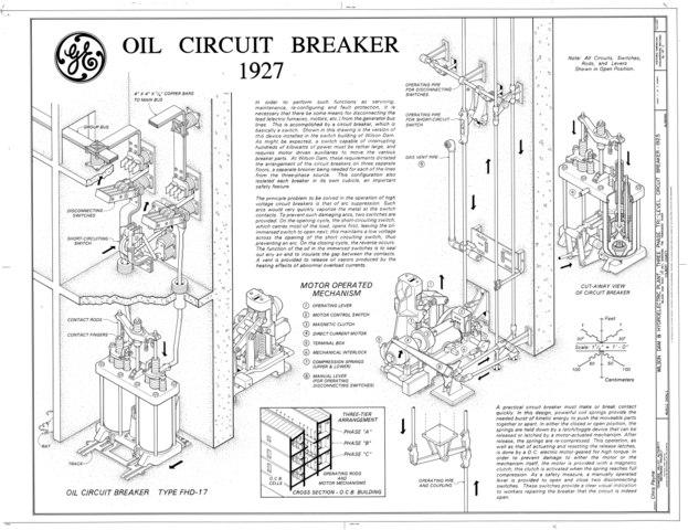 file oil circuit breaker 1927