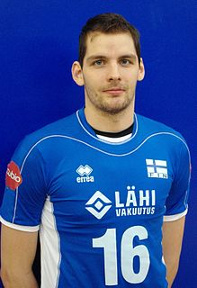 Olli-Pekka Ojansivu Finnish volleyball player