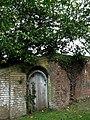 Old door in wall surrounding Fulmodeston Hall - geograph.org.uk - 569996.jpg