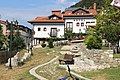 Old houses at yard of mosque, Prizren.jpg