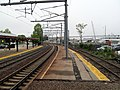 Old northbound platform at New London.JPG