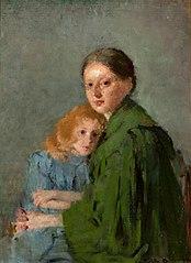 Portret kobiety z małą dziewczynką (Matka z dzieckiem)