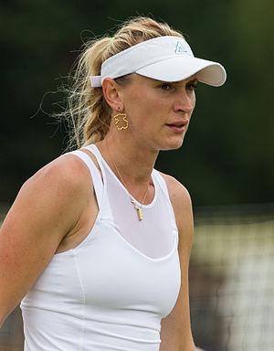 Olga Govortsova - Image: Olga Govortsova 2, 2015 Wimbledon Qualifying Diliff
