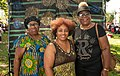 Ollie May, Yasmine Greaves and friend at Staten Island Black Heritage Festival.jpg