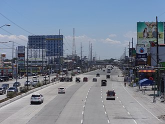 Philippine highway network - Image: Olongapo Gapan Road eastbound to NLEX (San Fernando, Pampanga; 2017 04 14)