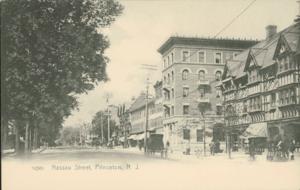 Nassau Street (Princeton) - Nassau Street in the 1910s
