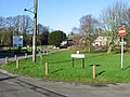 One way system around the green - geograph.org.uk - 624990.jpg