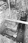opgraving oude steunbeer tegen breukgevel - oud-valkenburg - 20180697 - rce