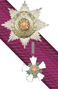 Orde van de Dubbele Draak 2e Klasse1e Graad rond 1900.jpg