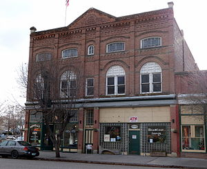 Huntington, Oregon - The Oregon Commercial Company Building, an NRHP site in Huntington