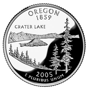 The Oregon State version of the U.S. Quarter f...