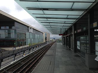 Ørestad Station - Ørestad Metro Station