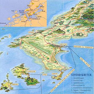 Brekstad - Image: Orlandskart