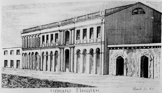 The Orleans Theatre and Ballroom, 1838 OrleansTheaterGibson.png