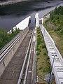 Orlická přehrada, lodní výtahy.jpg