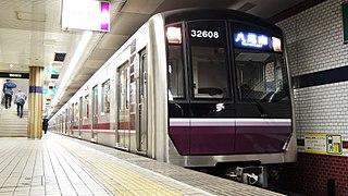 Tanimachi Line Metro line in Osaka prefecture, Japan