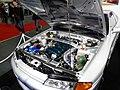 Osaka Auto Messe 2014 (40) WASTE SPORTS - Nissan SKYLINE GT-R (BNR32) engineroom.JPG
