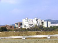 Osaka Univ of F S from Saito.JPG