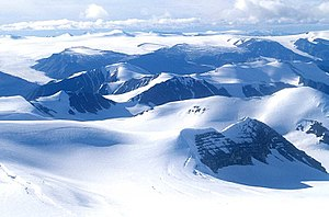 Ellesmere Island - The Osborn Range of the Arctic Cordillera mountain system