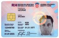Kroatische Identiteitskaart Croatian Identity Card Qwe Wiki