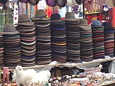 Otavalo Artisan Market - Andes Mountains - South America - photograph 075.JPG