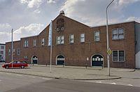 Overzicht voorgevel bloemenveilingsgebouw, bloemenveiling - Aalsmeer - 20343438 - RCE.jpg
