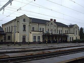 Püspökladány - Image: Püspökladány vasútállomás