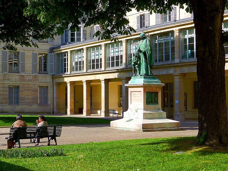 Fichier:P1010937 Paris V Rue St-Jacques n°252bis-254 Institut nat. des jeunes sourds reductwk.JPG