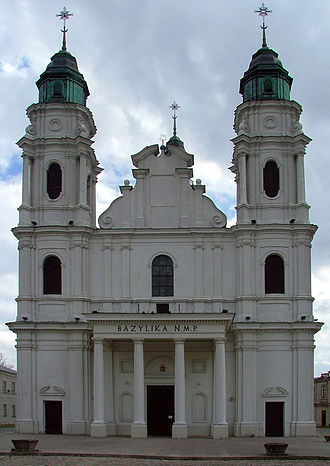 Basilica of the Birth of the Virgin Mary, Chełm - Image: POL Church of St. Mary in Chełm (2)
