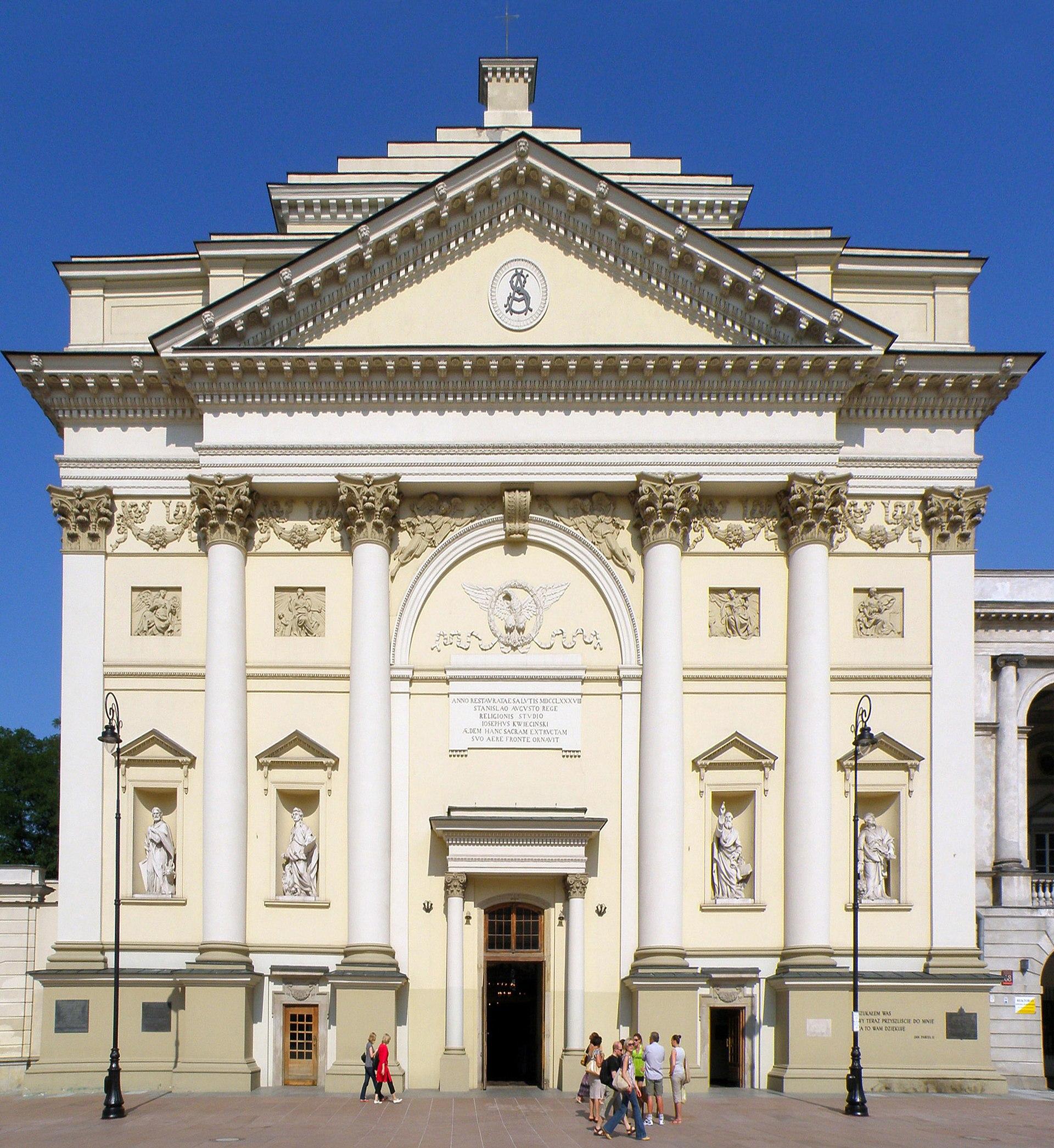 neoclassical architecture in poland wikipedia