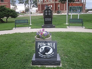 Bent County, Colorado - Image: POW MIA monument, Bent County, CO IMG 5723