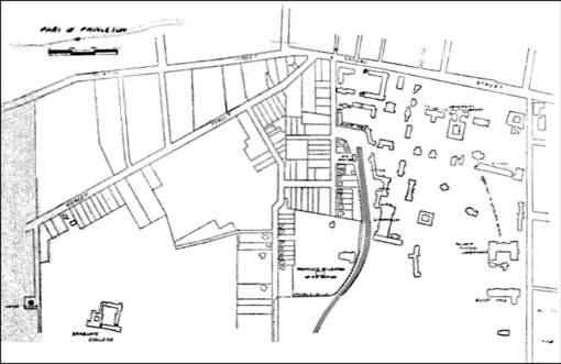 PSM V78 D319 Ground plan of the Princeton university buildings.png