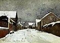 Paál László - 1873 - Havas barbizoni utca (Barbizon).jpg