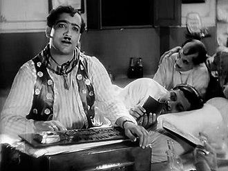 Pahari Sanyal - Pahari Sanyal in Devdas (hindi version) (1935)