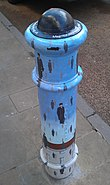 Painted Bollard, Winchester 07
