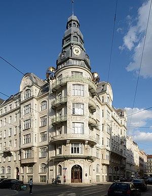 Palais des Beaux Arts, Vienna - Image: Palais des Beaux Arts DSC 0124w