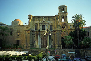 Martorana church in Palermo, Italy